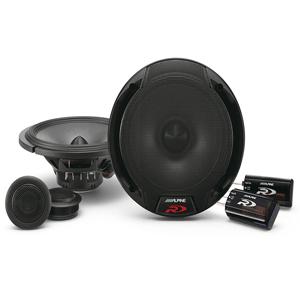 Alpine SPR-60C 6.5 inch Car Audio Component System (Pair)