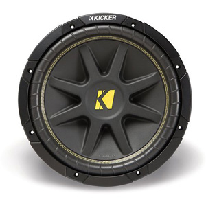 Kicker 10C84 (10C8-4) 8 Single 4 ohm Car Subwoofers