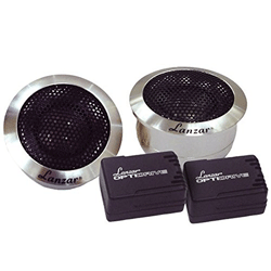 Lanzar OPTITW Optidrive 1-Inch Titanium Dome Tweeter with Aluminum Housings