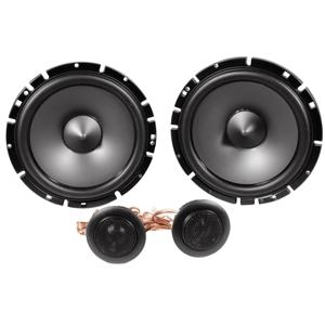 Package Pair Alpine Sps-610c 6.5inch 2 Way Pair of Component Car Speakers - Alpine Sps-610 6.5 inch 2 Way Pair of Coaxial Car Speakers