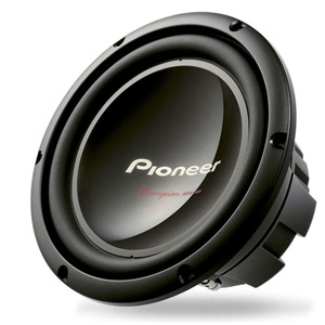 Pioneer TS-W259S4 Champion Series 10 Single 4ohm 1200 Watts