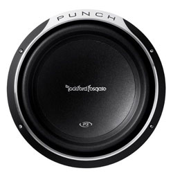 Rockford Fosgate Punch P3 P3SD212 Shallow 12-Inch 400 Watt Subwoofer - 2 Ohm (Discontinued by Manufacturer)
