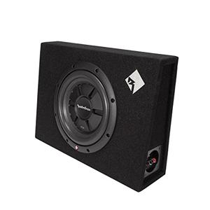 Rockford Fosgate R2S-1X10 Prime R2S Single 10-Inch Shallow Loaded Enclosure