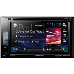 "New - Pioneer AVHX3800BHS 2-DIN Receiver with 6.2"" Display/Built-In Bluetooth/AppRadio One/HD/RadioSiri Eyes Free/"