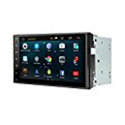 "New - Henhaoro 7"" Android Car Stereo Gps Navigation Lollipop 5.1 Touch Screen Radio No DVD 2 DIN Resolution 1024x600 Head unit"
