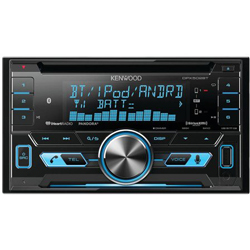 New -Kenwood DPX502BT Double-Din CD Receiver with USB Interface & Bluetooth