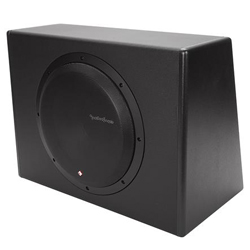 New -ROCKFORD FOSGATE P300-12 PUNCH 300 WATT POWERED LOADED 12-INCH SUBWOOFER ENCLOSURE