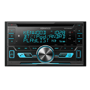 Kenwood DPX530BT / NUTEK EARBUDS Double-DIN In-Dash CD