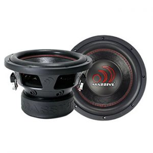 Massive Audio Car Subwoofer