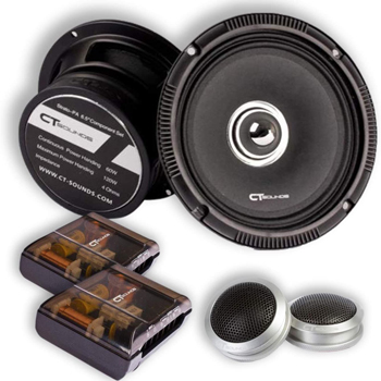 CT Sounds Full Range Component Car Speakers